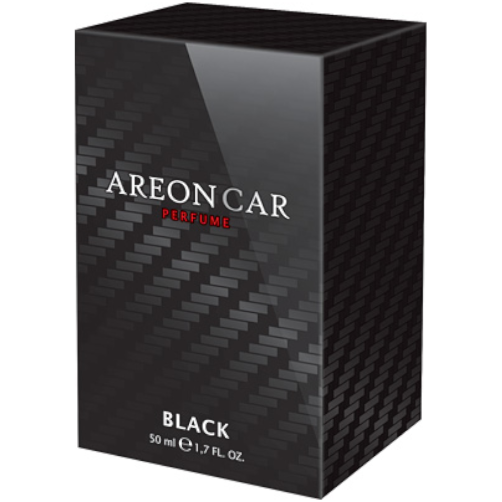 Odorizant auto, Areon Perfume new design, Black, 50 ml imagine MatHaus.ro