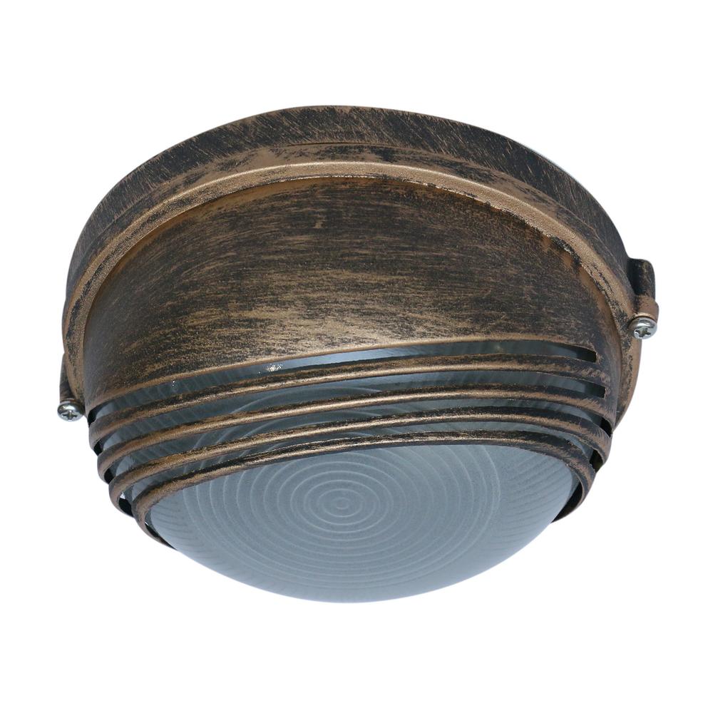 Aplica exterior Parma bronz antic, KL3014, 1XE27, IP44 imagine MatHaus