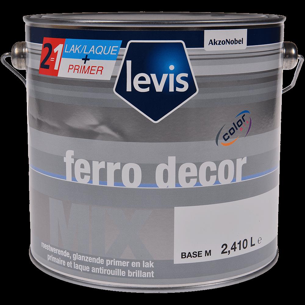Grund si lac Levis Ferro Decor Mix M, medium Base, 2.5 l