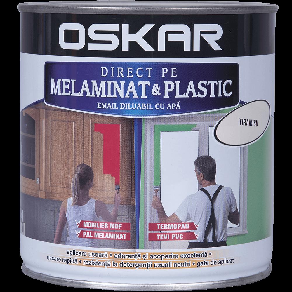 Email Oskar - Direct pe melaminat si plastic tiramisu 0,6L