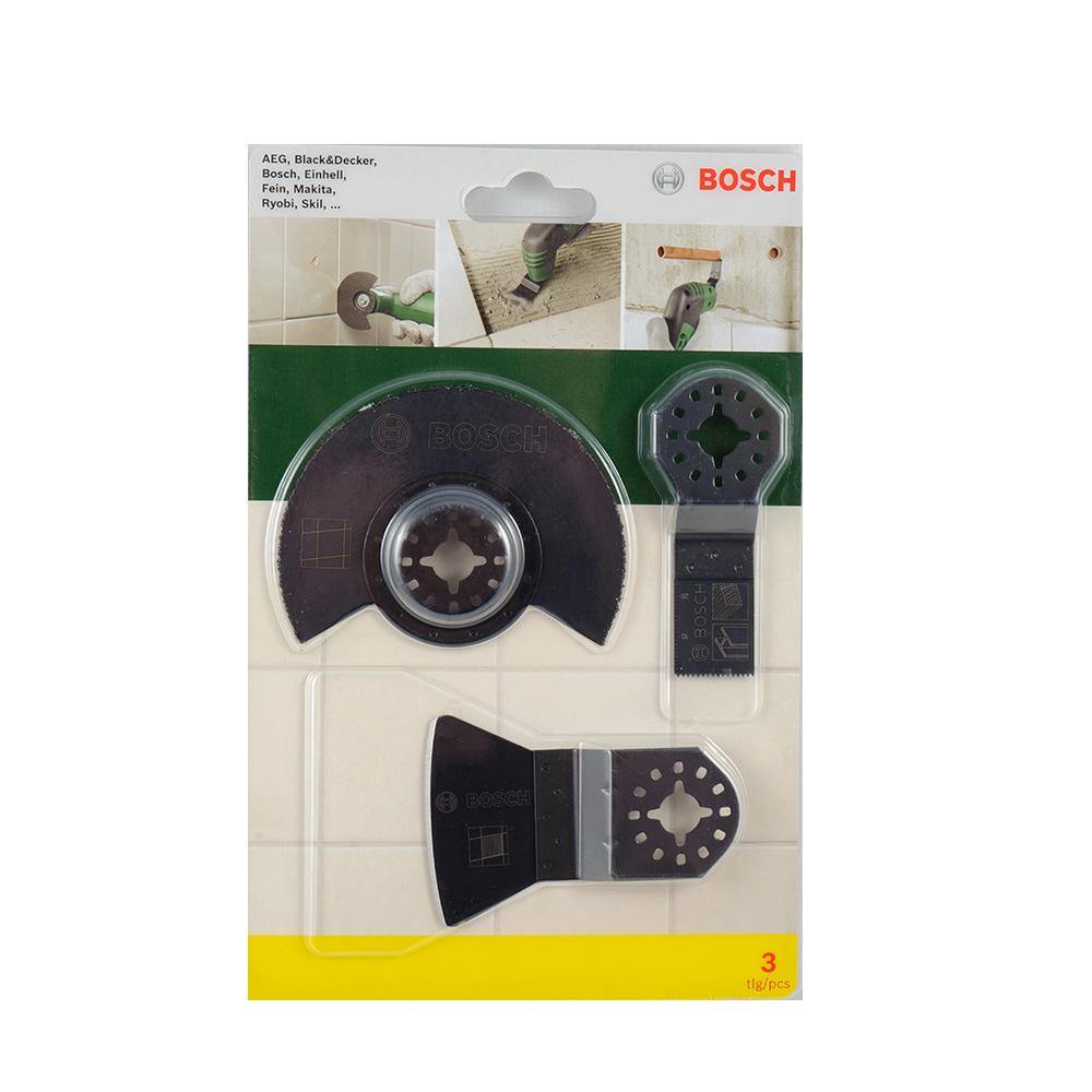 Set 3 Accesorii Bosch Pentru Faianta 2607017324 imagine 2021 mathaus