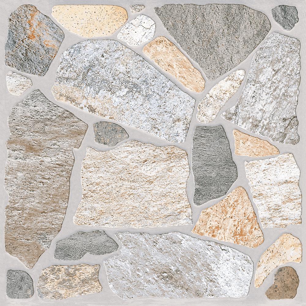 Gresie portelanata exterior glazurata Toledo Kai Ceramics, bej, piatra, patrata, grosime 7 mm, 33,3 x 33,3 cm imagine MatHaus.ro