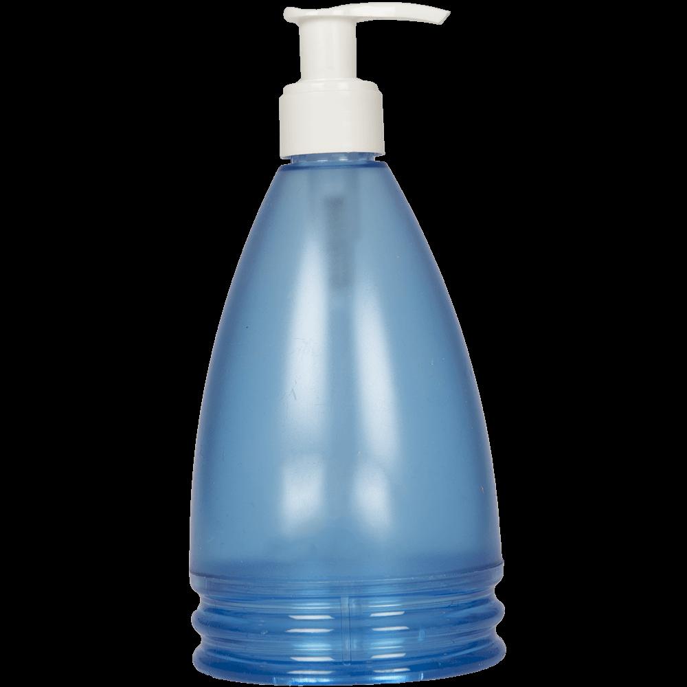 Dozator sapun lichid Aqua Ocean, plastic, bleu, 17,5 x 8 x 8 cm
