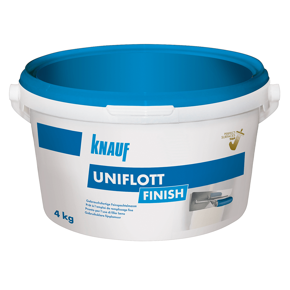 Chit de rosturi Knauf Joint Uniflott Finish, 4 kg imagine 2021 mathaus