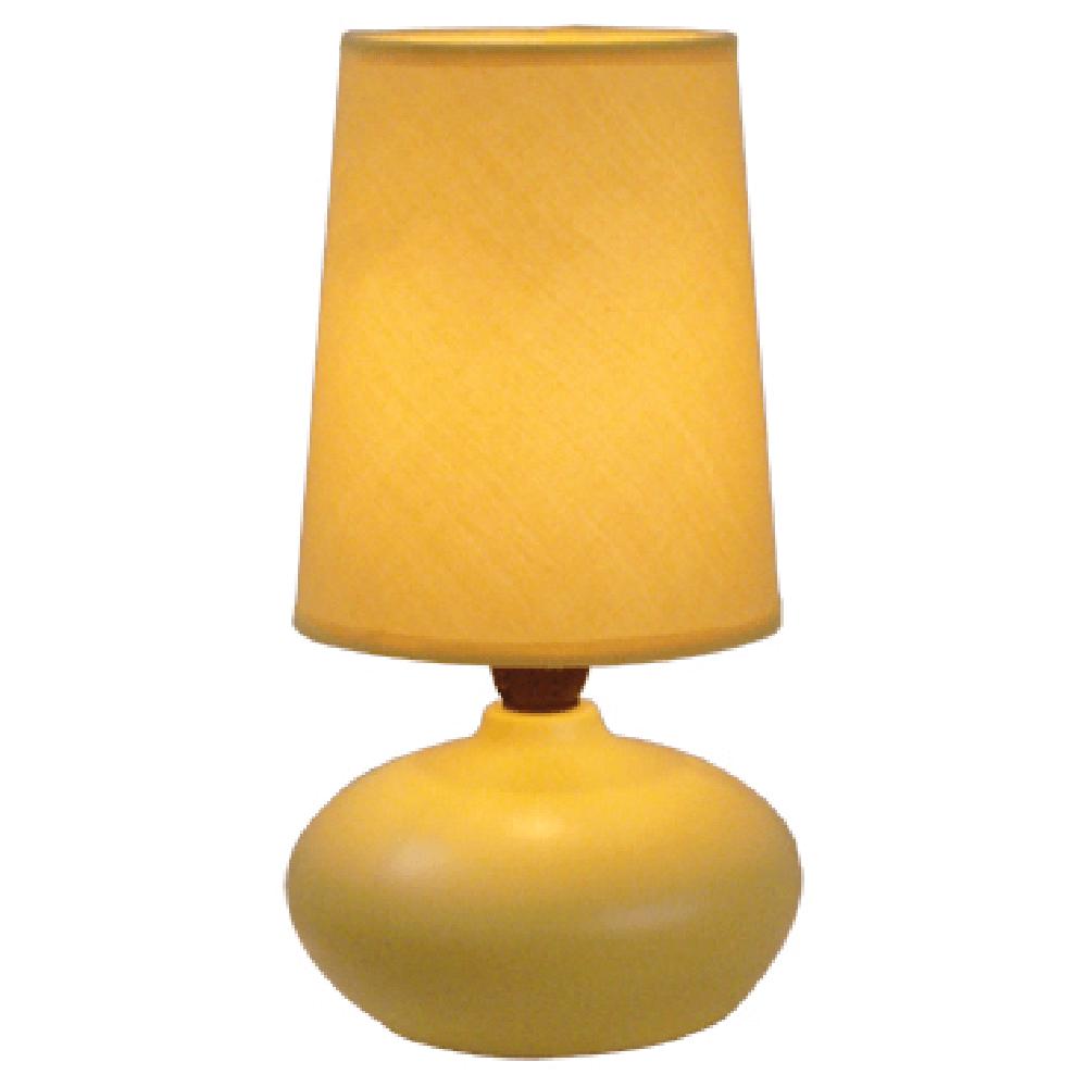 Veioza Oscar KL 0508, ceramica, galbena, 1 x E14, 40W, 226 mm imagine 2021 mathaus