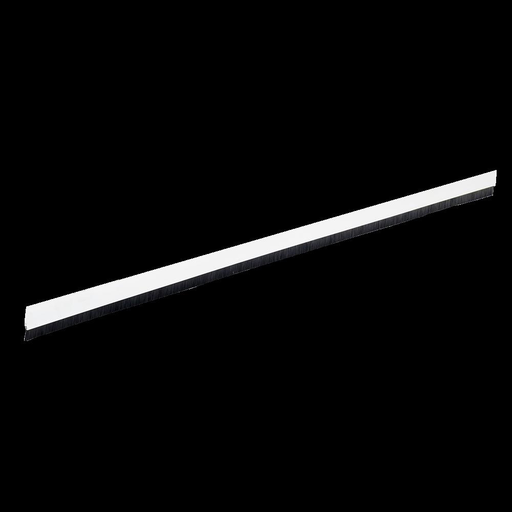 Prag izolator PVC cu perie Geko Staff, alb, 40 mm x 98 cm