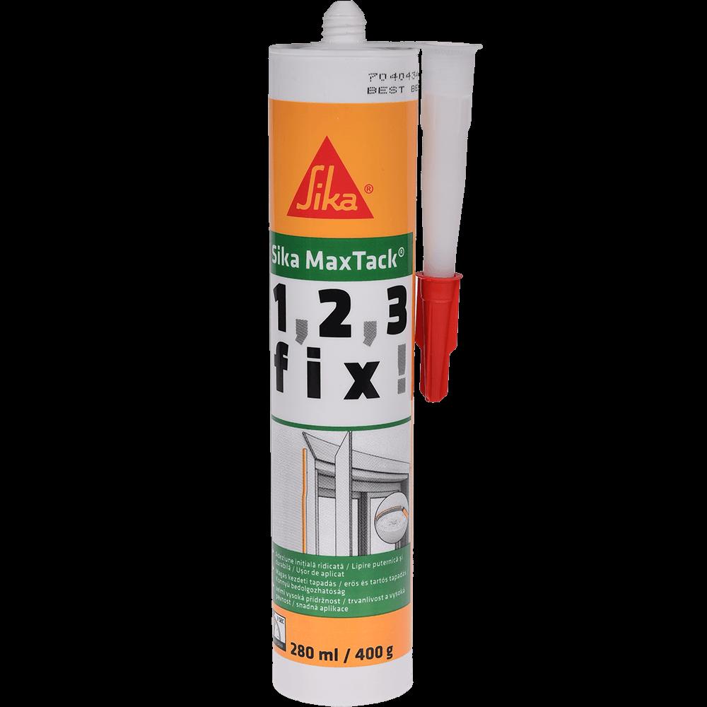 Adeziv pentru materiale de constructii Sika MaxTack® alb 300 ml