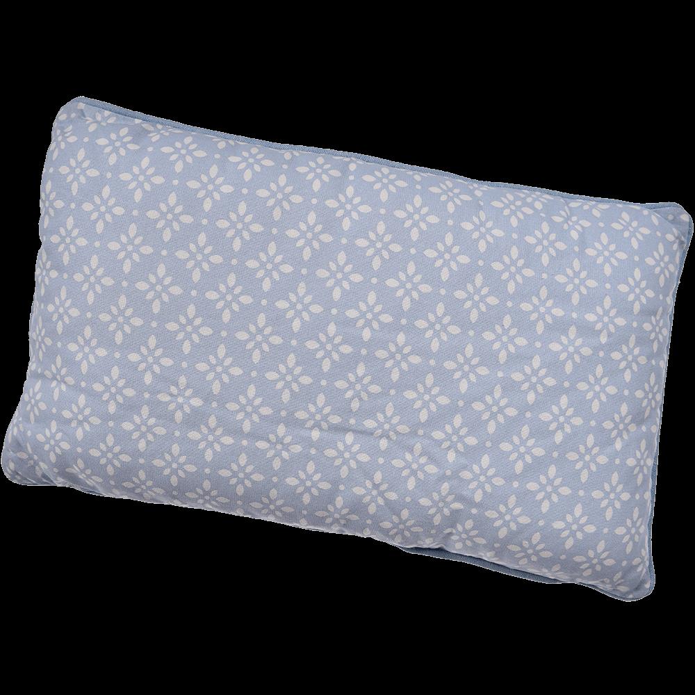 Perna decorativa Mosaik, bumbac 100%, bleu clar, 30 x 50 cm, dreptunghiulara mathaus 2021