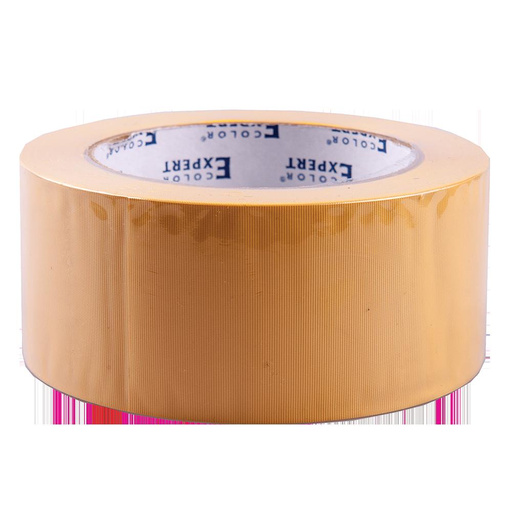 Banda adeziva PVC galben 50 mm x 33 m