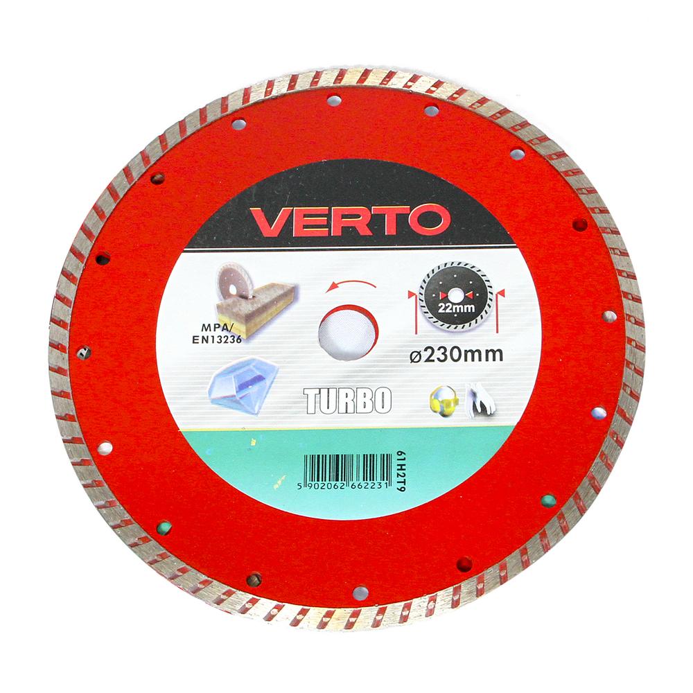 Disc Diamantat Turbo Verto 61H2T9 230 mm