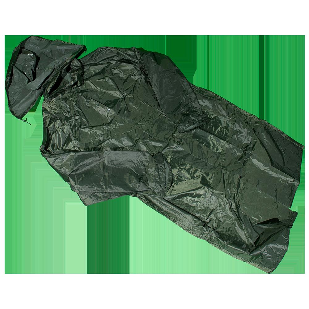 Pelerina impermeabila Duren 3050 Pl-K, poliester, marimea S, kaki