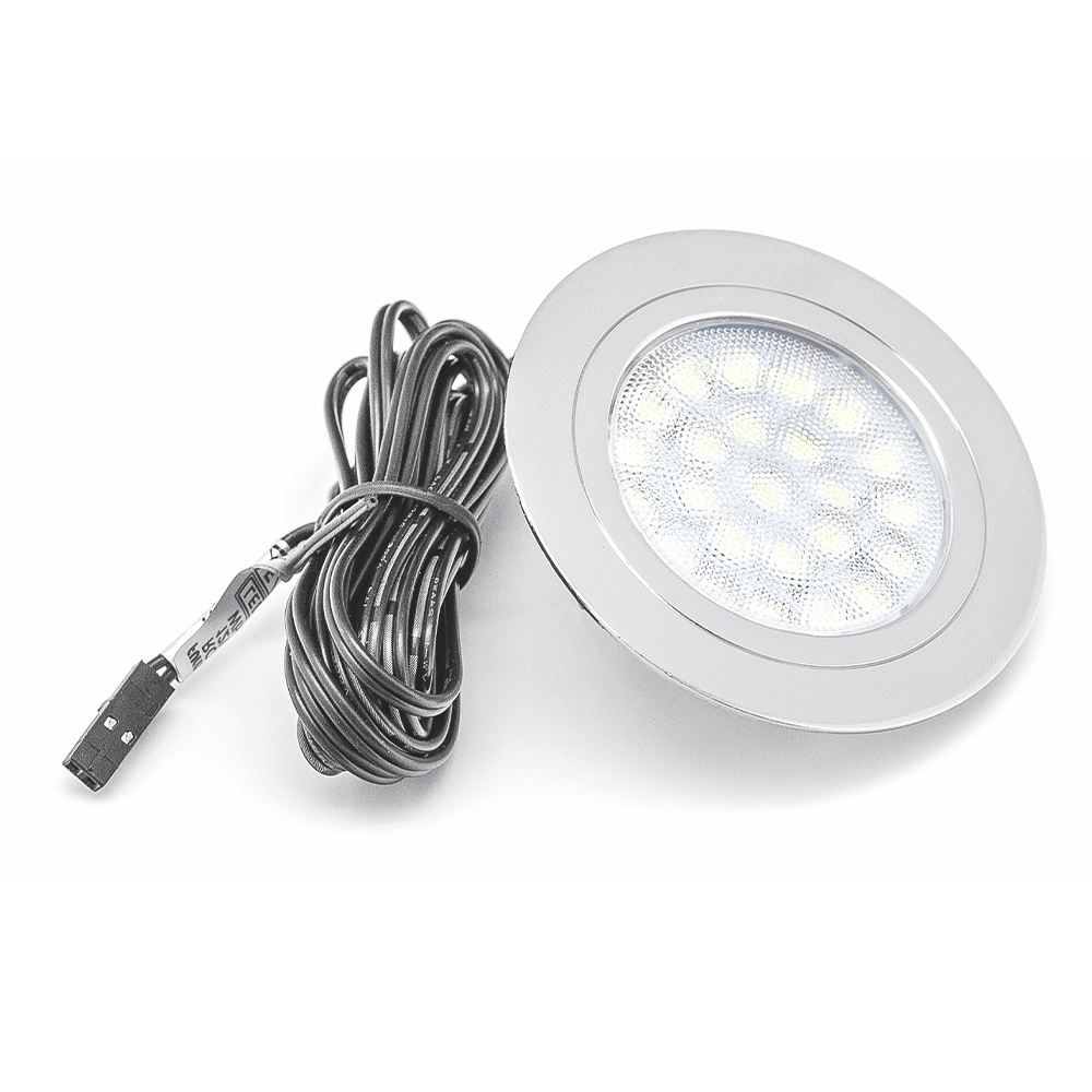 Spot rotund incastrat LED alb cald