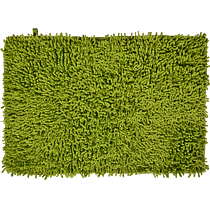Covoras baie MSV, bumbac 100%, verde, 60 x 40 cm
