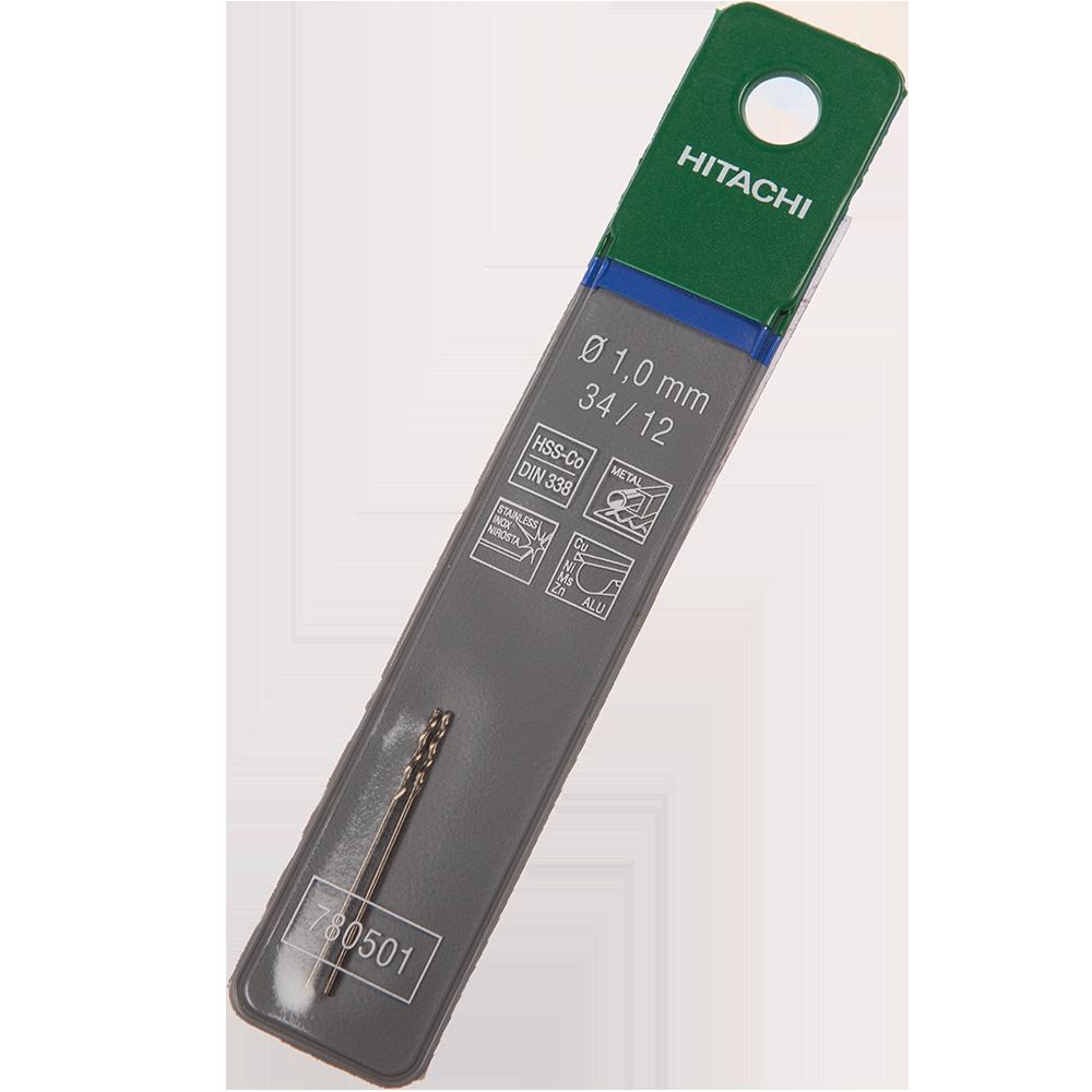 Burghiu Hikoki HSS-Co, mandrina standard, pentru metal, 1 mm imagine MatHaus.ro