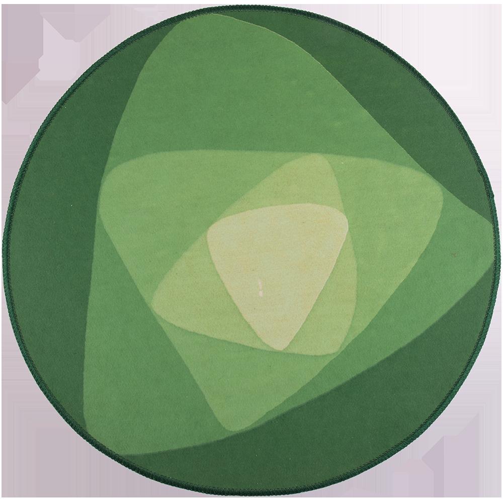 Covor rotund mat vartej verde imagine MatHaus
