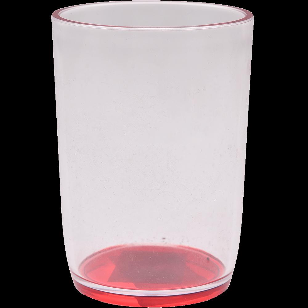 Pahar de baie Daloa, plastic, rosu, 7,1 x 7,1 x 15 cm imagine 2021 mathaus
