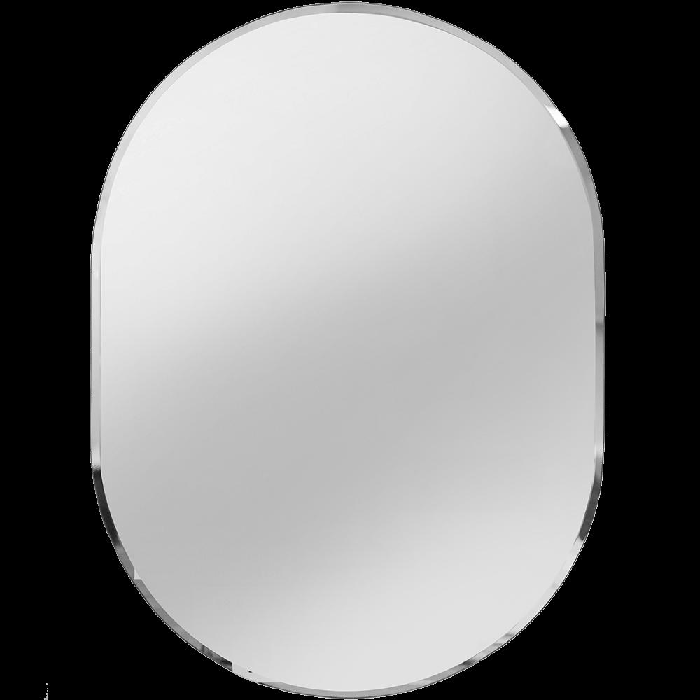 Oglinda baie Sanotechnik, fara iluminare, ovala, 45 x 60 cm