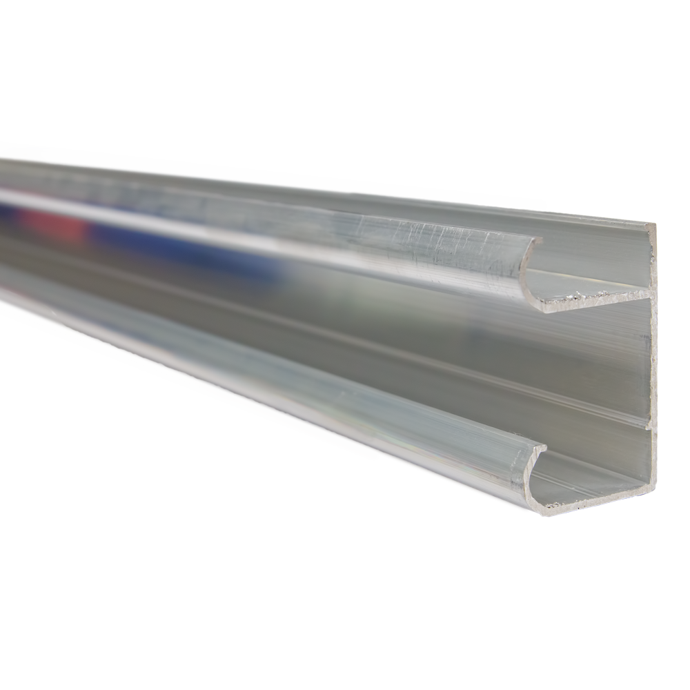 Profil de rulare sistem Unifuture, aluminiu, lungime 3 m, dimensiuni 29 x 46 mm imagine 2021 mathaus