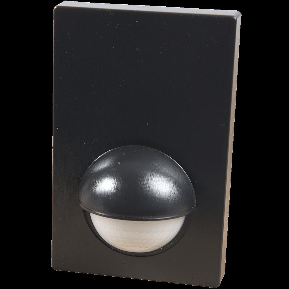 Senzor de miscare infrarosu plat, 180 grade, 1200 W, IP44, negru mathaus 2021