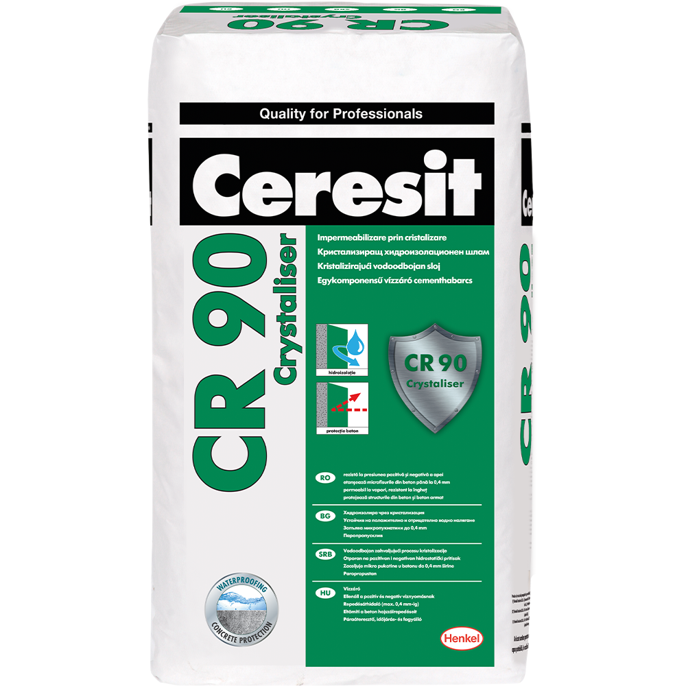 Pasta hidroizolatoare Ceresit CR90, 25 kg mathaus 2021