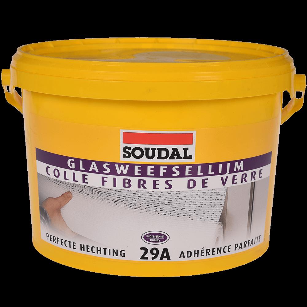 Adeziv pentru tapet si fibra de sticla Soudal 29A, 5 kg