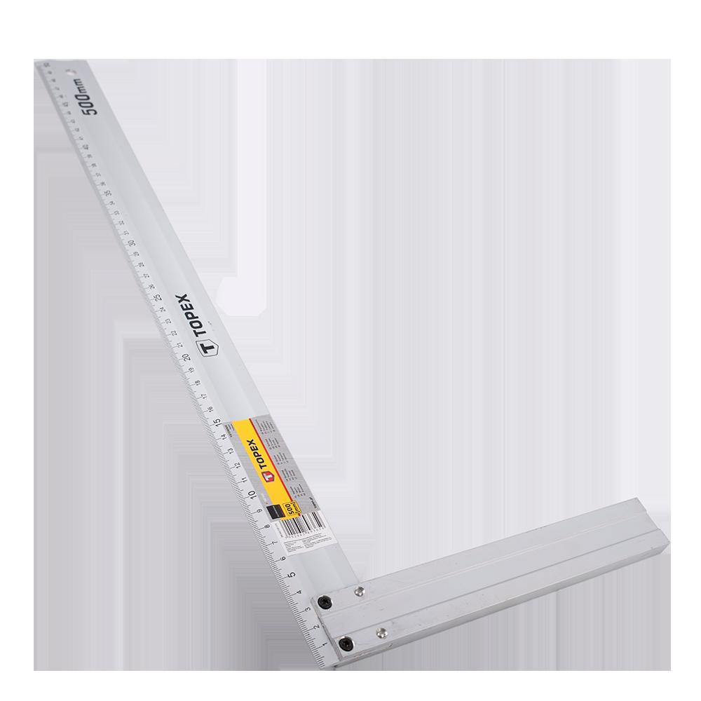 Vinclu Topex, aluminiu, 500 x 235 mm mathaus 2021