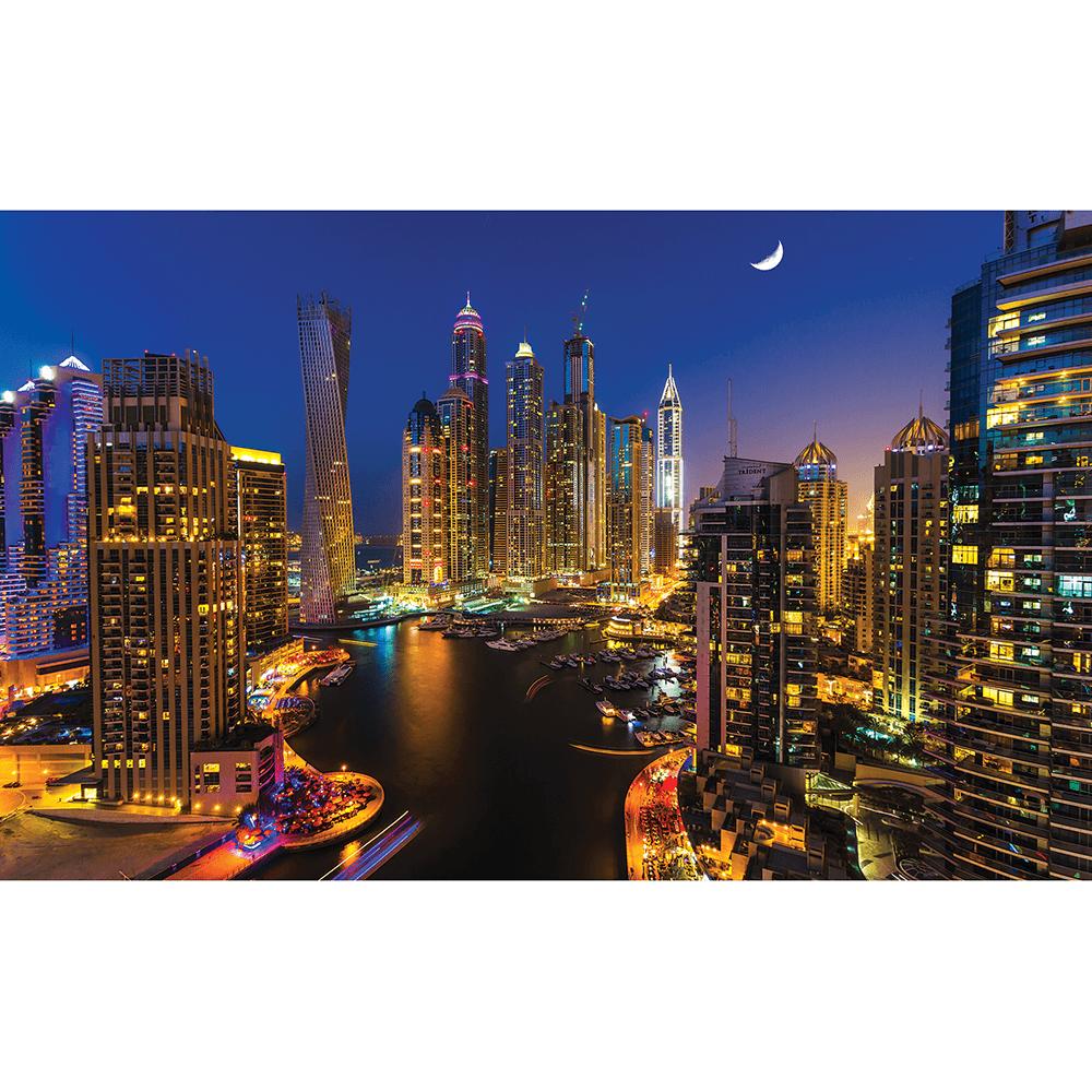 Fototapet duplex Dubay By Night 1672P8, 368 x 254 cm imagine MatHaus.ro