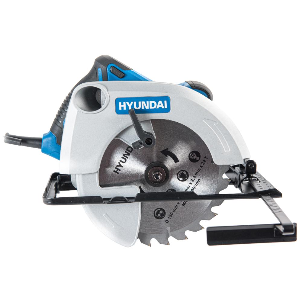 Fierastrau circular electric Hyundai HY-CS 190, 1500W, 6000 rpm imagine MatHaus.ro