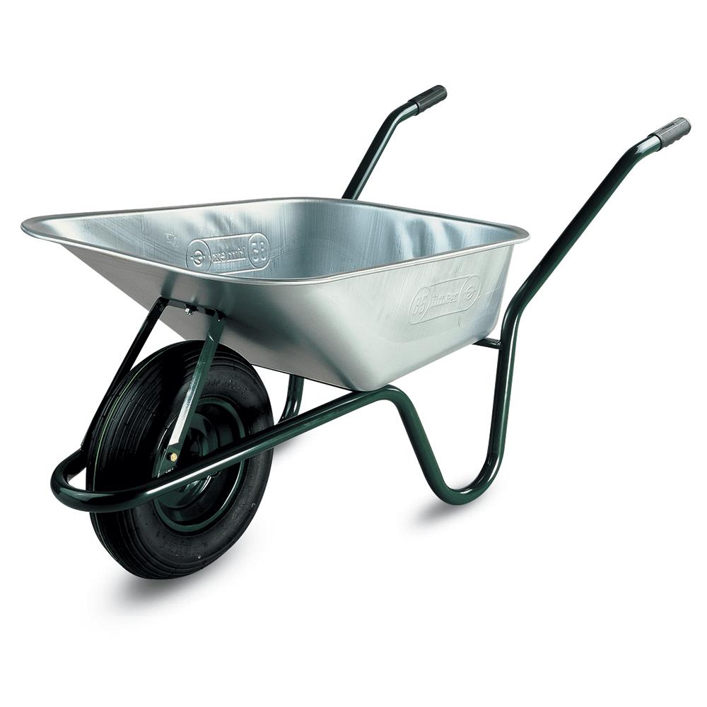 Roaba Limex 85 l, galvanizata, cu roata pneumatica mathaus 2021