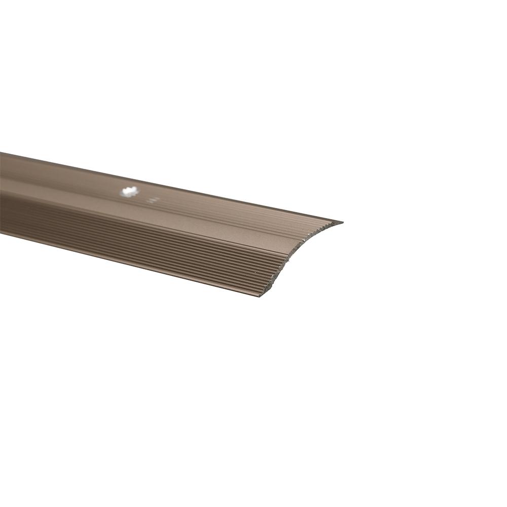 Profil trecere cu diferenta de nivel S05, aluminiu, 2700 x 40 x 7 mm, satinat