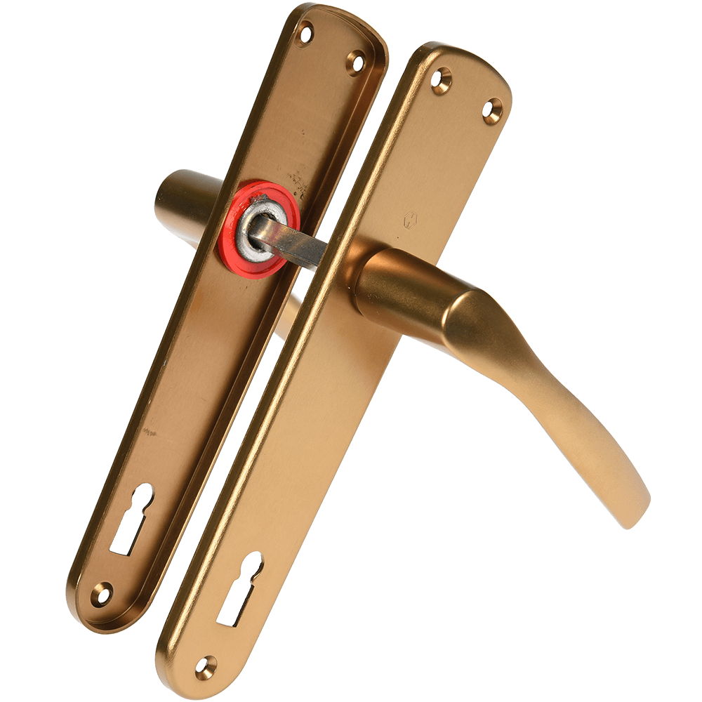Maner Hoppe Milano, cu sild pentru cheie, bronze