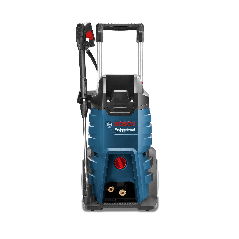 Aparat de spalat cu presiune Bosch Professional GHP 5-55, 2200W, 115 bari, 520 l/h, 8m imagine 2021 mathaus
