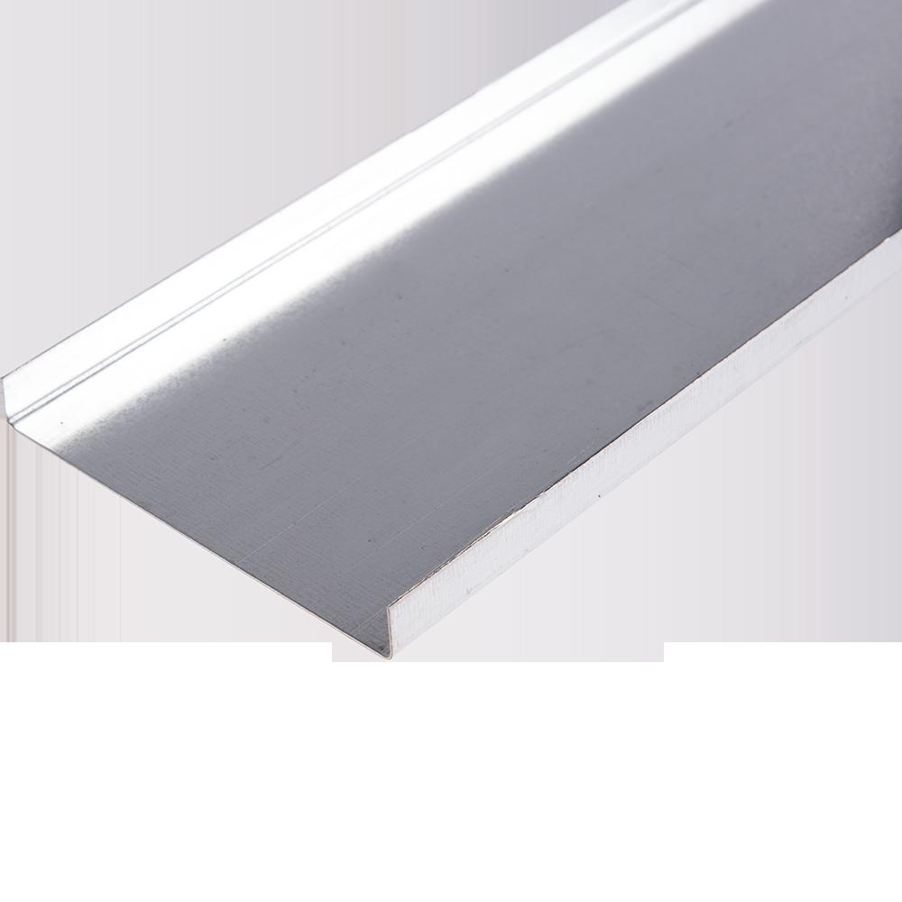 Capac jgheab metalic perforat 100x15x0,6 mm (3m)