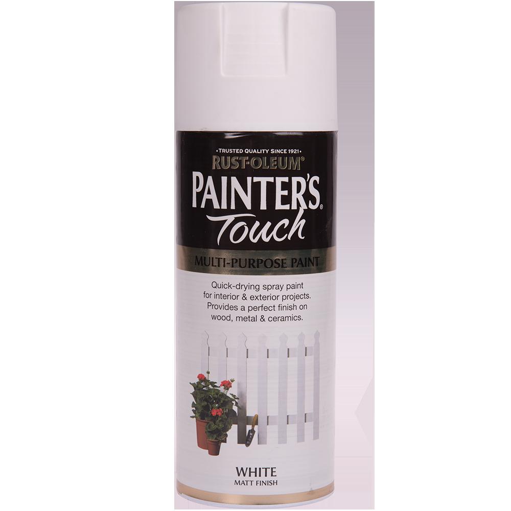Spray Rust-Oleum Painter`s Touchs, mat, alb, 400 ml