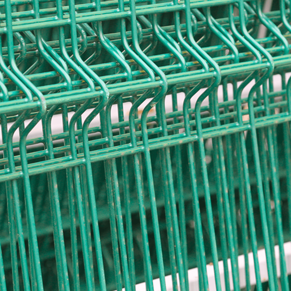 Panou gard plastifiat zincat bordurat verde 4,2x1200x2000 mm mathaus 2021