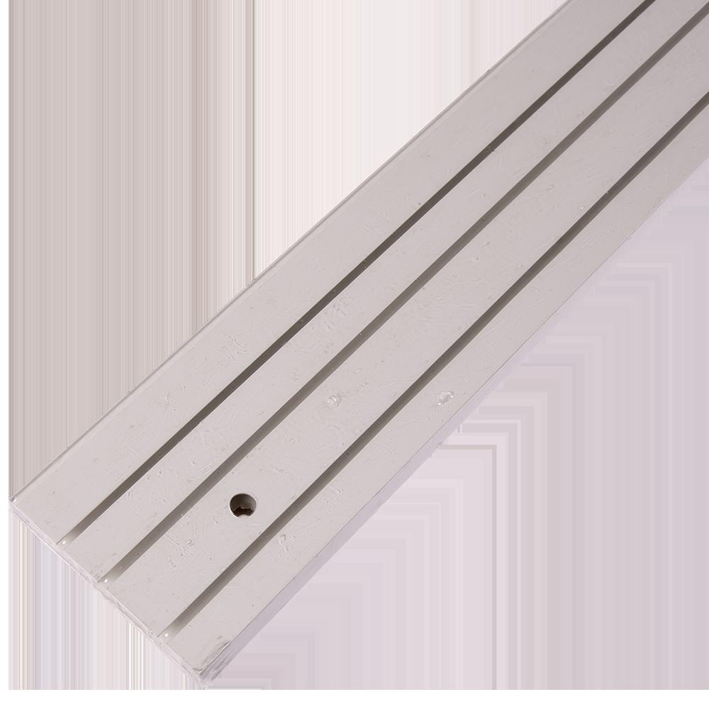 Sina perdea tavan SH3, PVC alb, 3 canale, 250 cm mathaus 2021