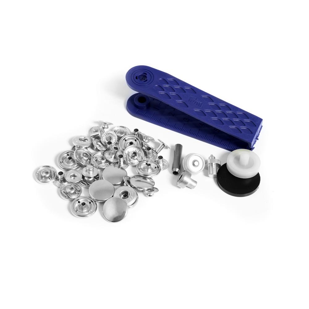 Set capse pentru confectii + dispozitiv montare, Prym, ø 15 mm, 10 buc imagine 2021 mathaus