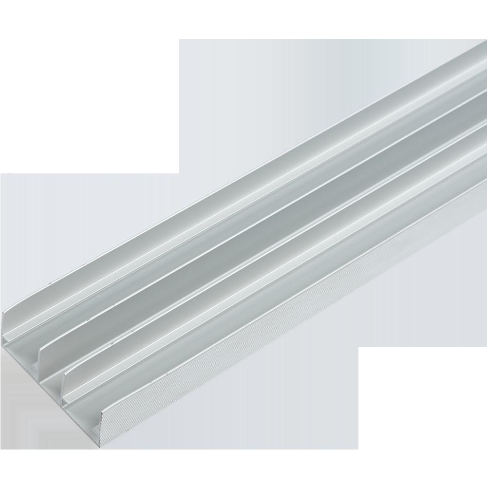 Profil de ghidare dublu pentru sistemul SCL 80 AY, lungime 3 m, dimensiuni 58 x 20 mm, material aluminiu imagine 2021 mathaus