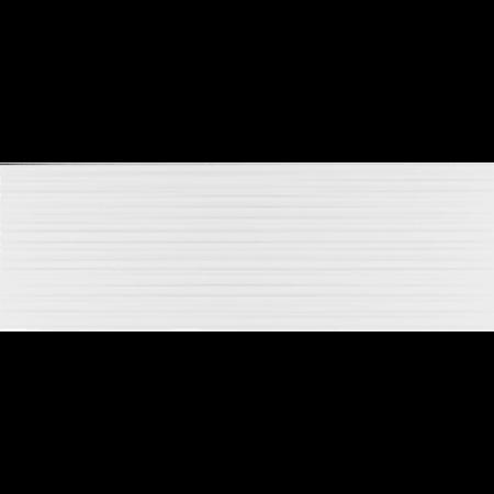 Faianta Kai Ceramics white glossy, aspect uni, dreptunghiulara , 25.5 x 75.5 cm