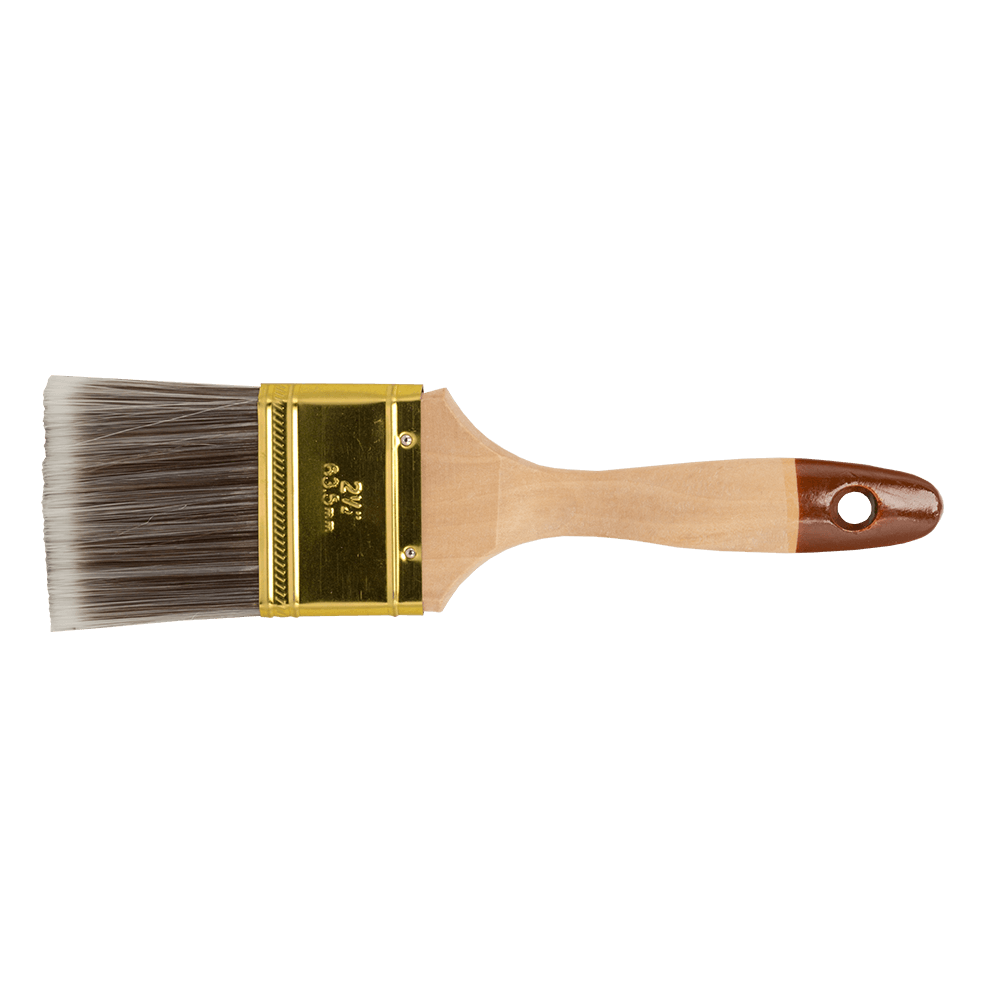 """Pensula lata pentru vopsit seria 45, latime 2,5"""", fir natural si poliester"""