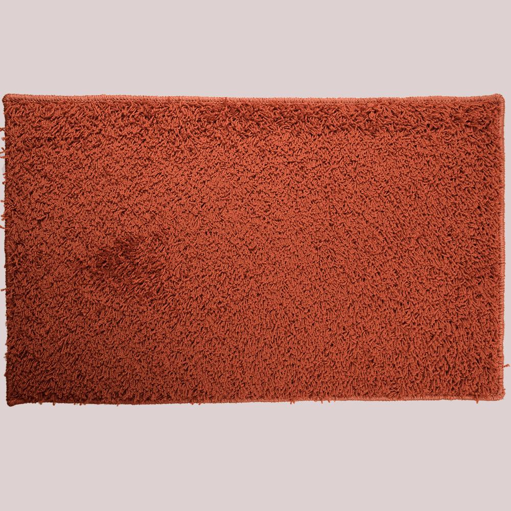 Covor dreptunghiular Mistral, polipropilena, model portocaliu, 100 x 150 cm