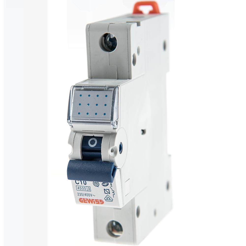 Intrerupator automat GW92106 1P 10A Gewiss