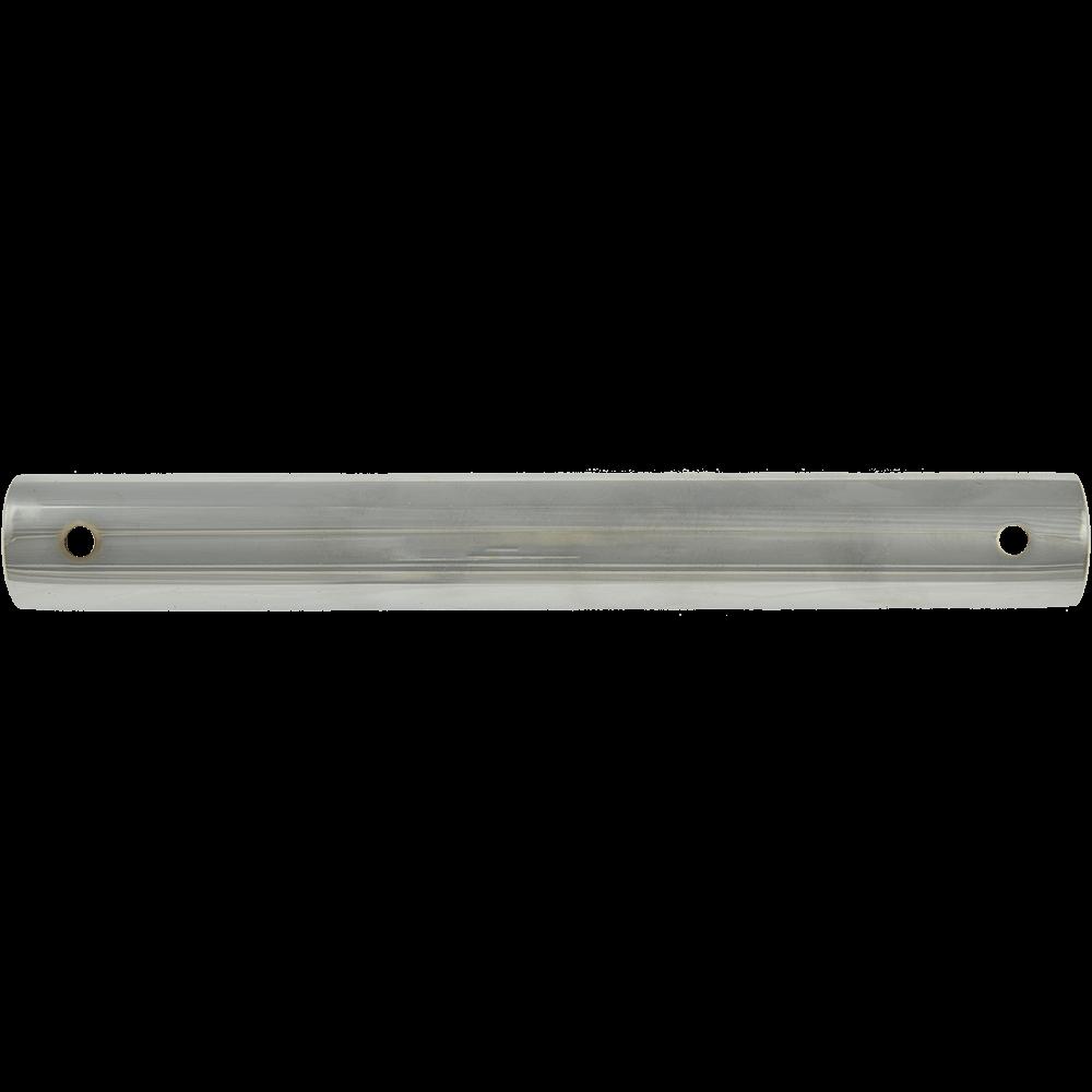 Picior rotund pentru canapea, metal cromat,  L: 220 mm, D: 28 mm imagine MatHaus.ro