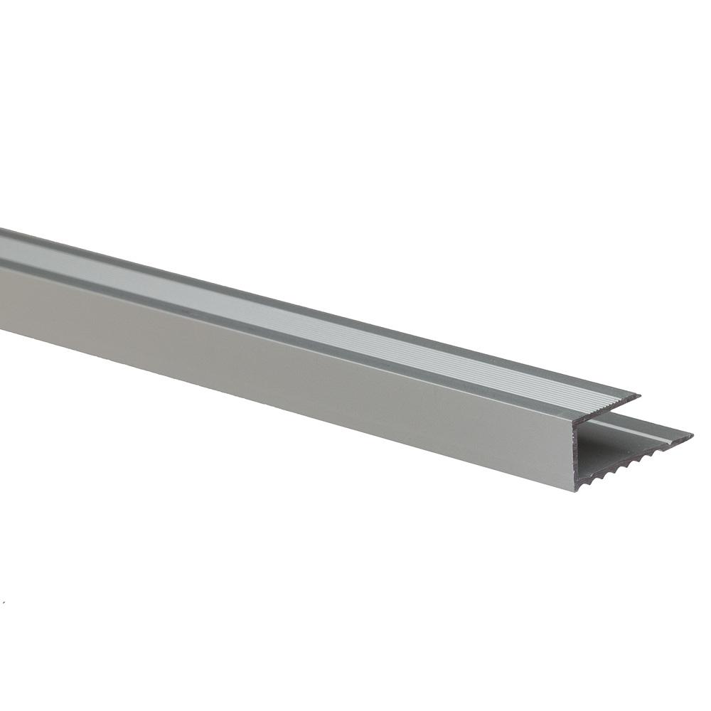 Profil de terminatie pentru parchet Set Prod S63 aluminiu, argintiu, 2,7 m imagine 2021 mathaus