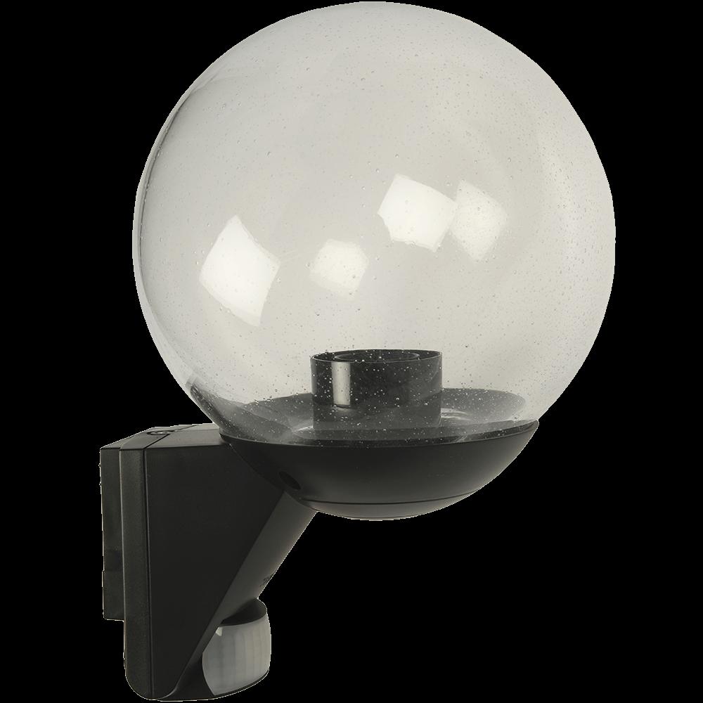 Lampa pentru exterior Steinel L585 S, senzor infrarosu cu detectie 12 m, bec E27, alba imagine MatHaus