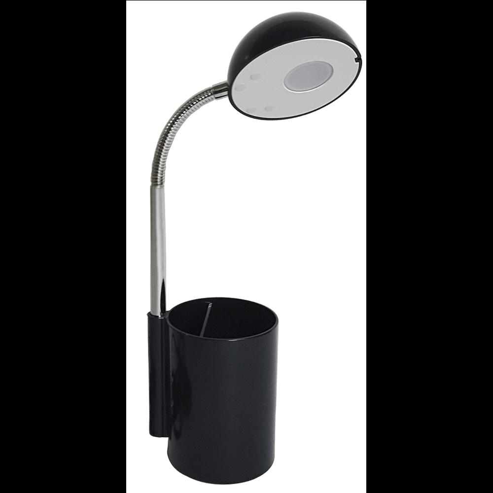 Lampa de birou Krist neagra, 1x3 W, LED imagine 2021 mathaus