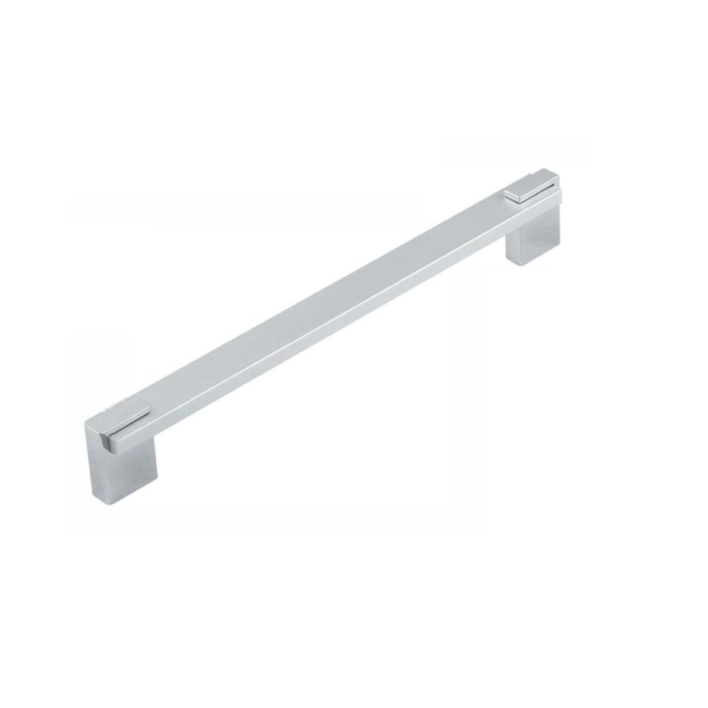 Maner aluminiu cu terminatie FA6332 128 mm, crom mat