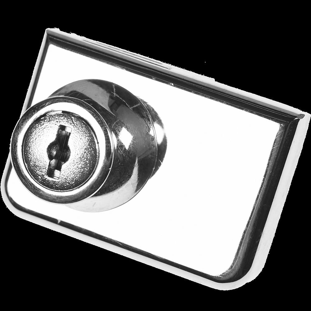 incuietoare pentru mobilier, otel cromat imagine MatHaus