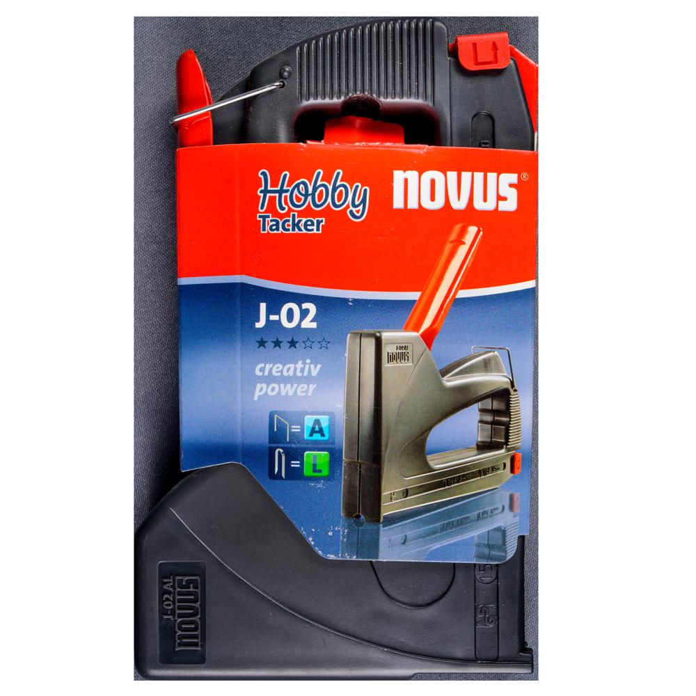 Capsator manual Novus J-02 AL