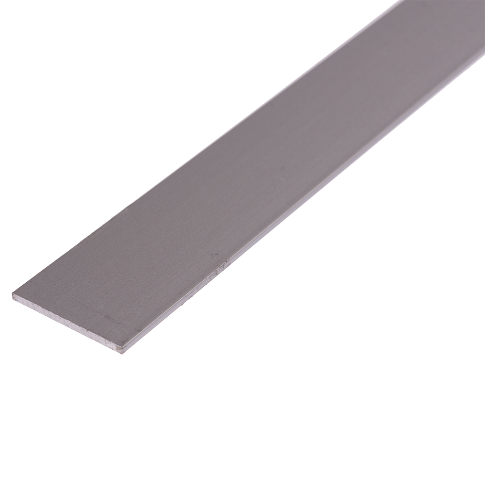 Bara plata, aluminiu, 30 x 2 mm, L 1 m imagine 2021 mathaus